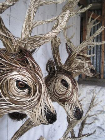Willow Sculpture Bob Johnston Baskets