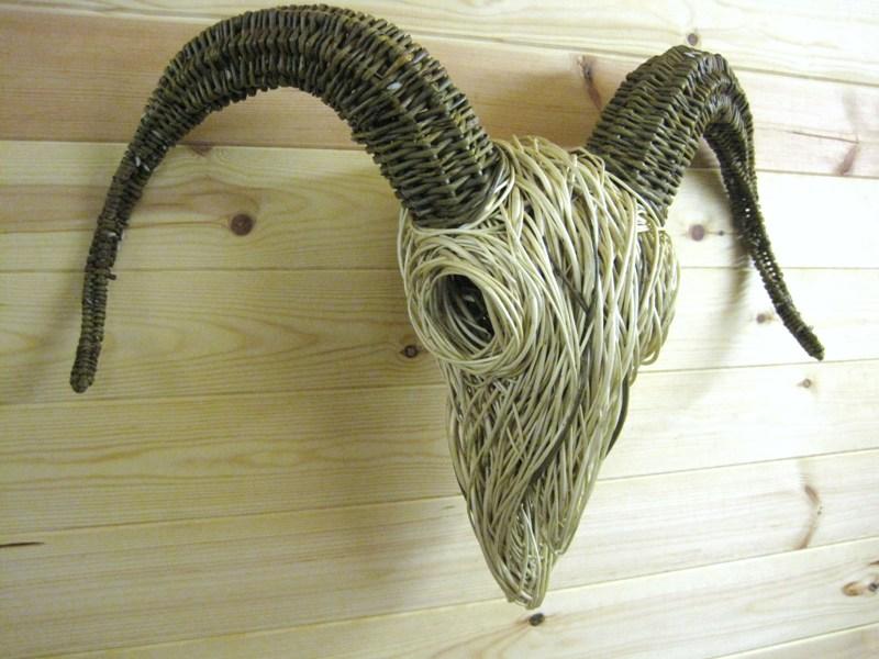 Ram's Skull - Bob Johnston Baskets