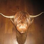Highland Bull Sculpture