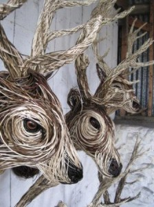 Stag Sculptures