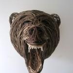 Brown Bear Sculpture