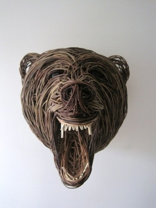 Brown Bear Sculpture