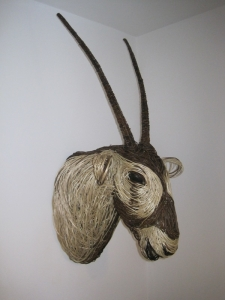 Willow Oryx Sculpture