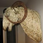 Willow Ram Sculpture