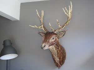 Red Deer Trophy Head