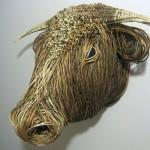 Willow Bull Sculpture
