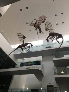 Willow Dragon Sculptures